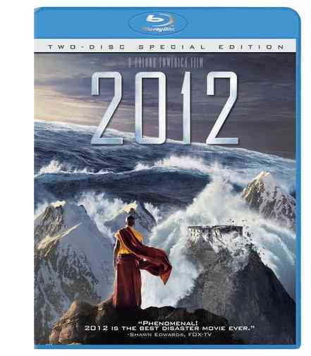 2012 BY CUSACK,JOHN (Blu-Ray) [3 DISCS] - 